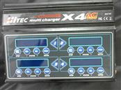 HITEC Battery/Charger X4 AC PLUS